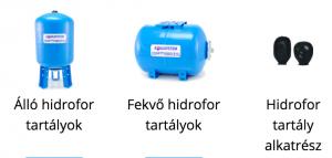 hidrofor tartaly