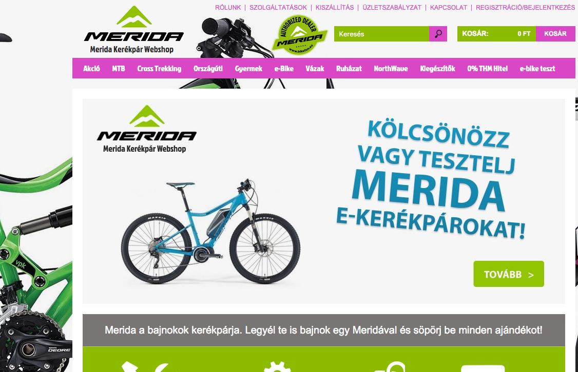 merida-webshop