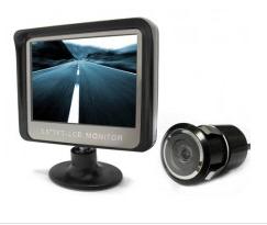 tolatókamera LCD monitorral