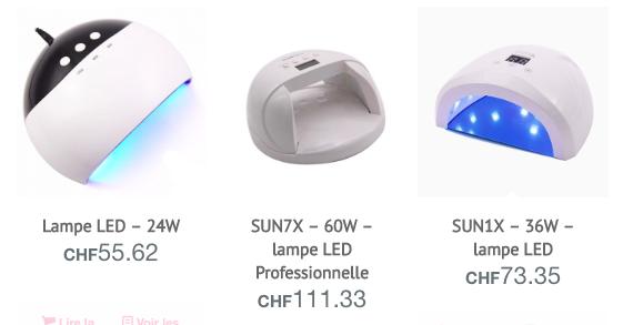 uv led lampe